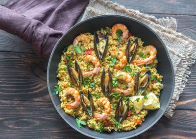 study-abroad-cartagena-spain-paella-dish